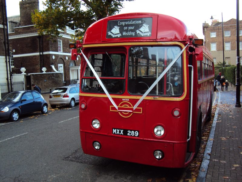 39 seat 'RF' bus in red