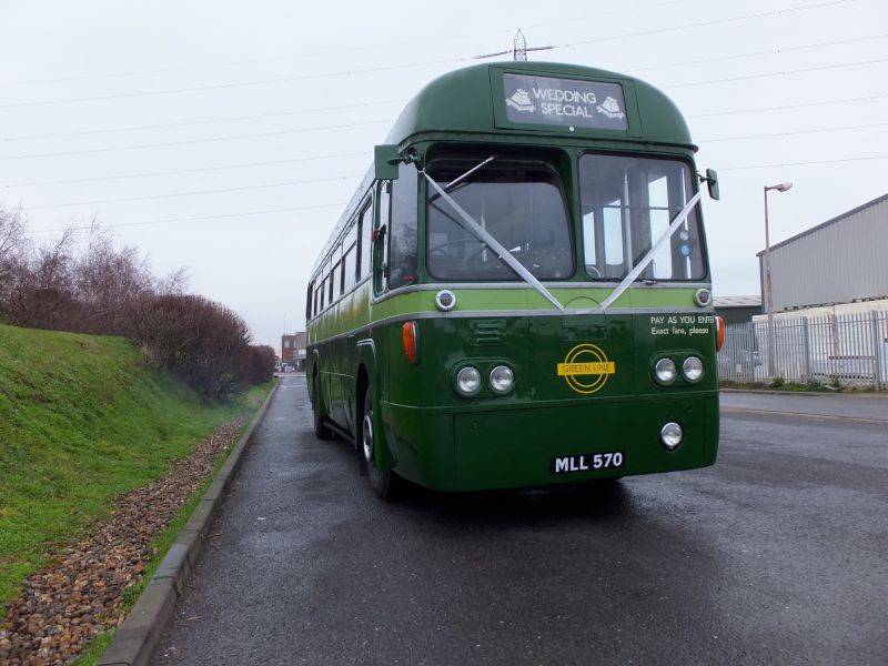 39 seat 'RF' bus in green