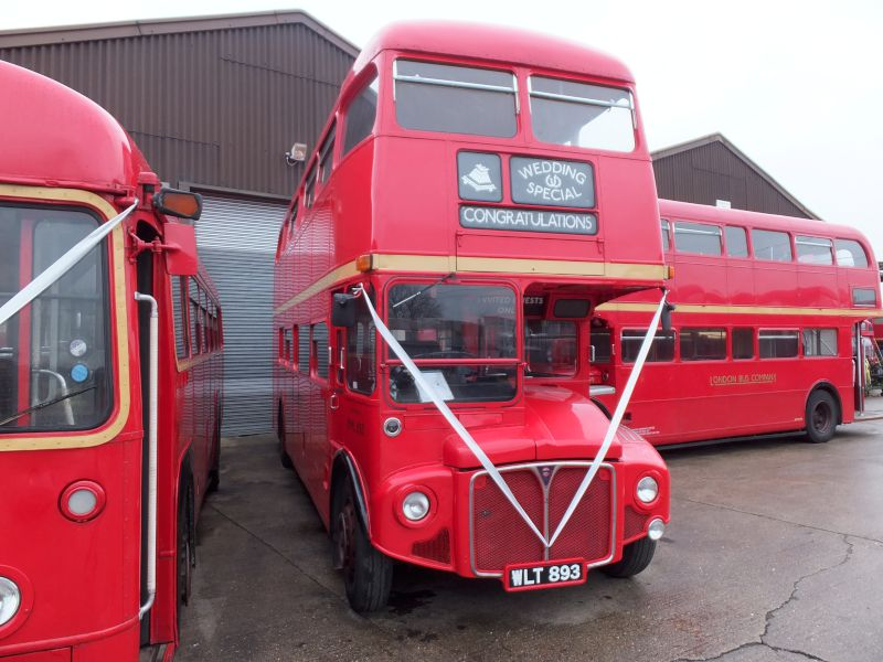 Double Deck Routemaster In Red