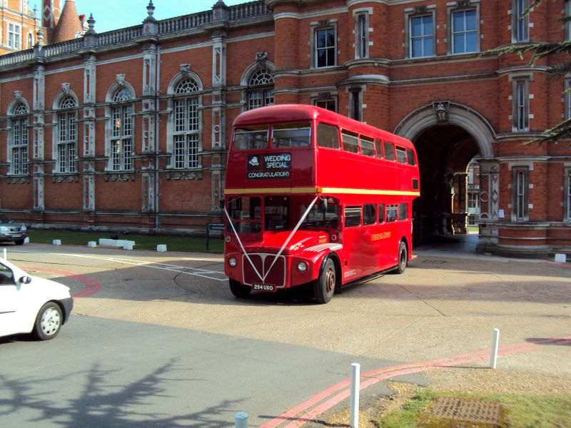 Routemaster Red