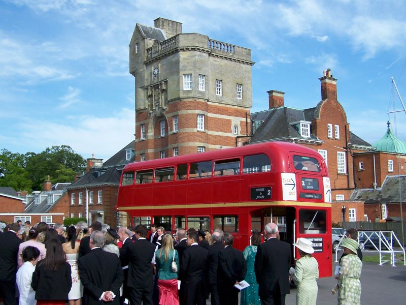 Routemaster Double Deck In Red