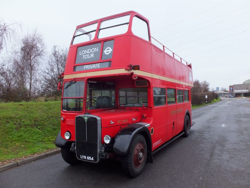 56 seat open top 'RT' type bus