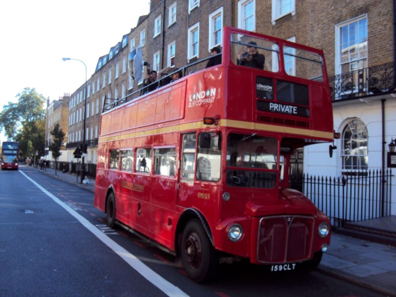 60 seat open top Routemaster bus
